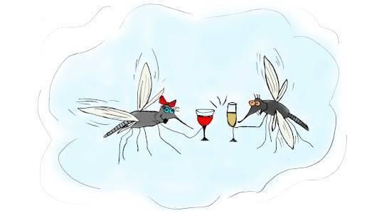 Гель Фенистил от укусов комаров