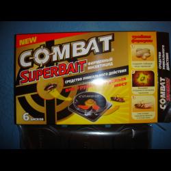 Современное и эффективное средство для борьбы с тараканами «комбат»