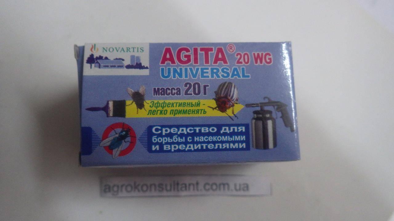 Применение средства агита от мух