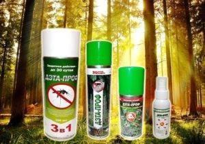 Эффективные спреи и аэрозоли от комаров