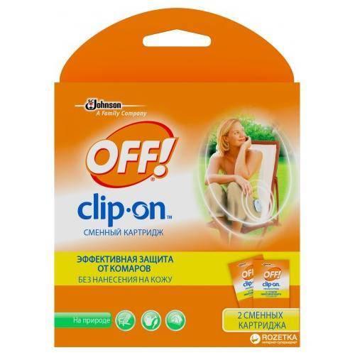 Устройство off clip-on – современная защита от комаров