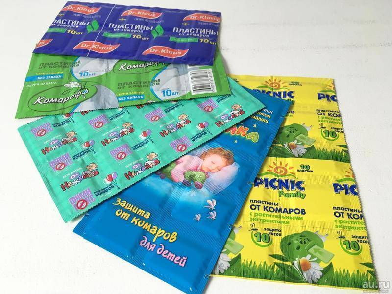 Пластинки от комаров