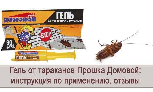 Гель от тараканов домовой