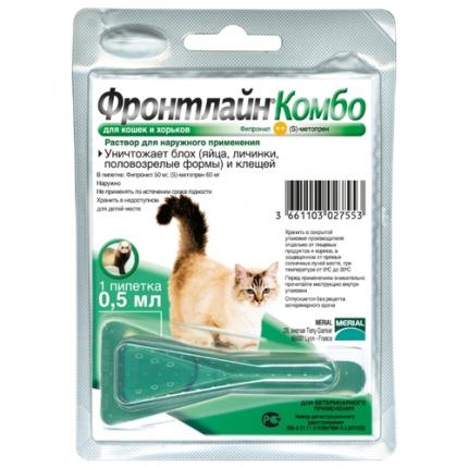 Средство от блох для кошек — описание, эффективность, преимущества, особенности