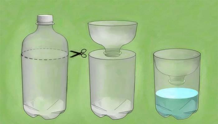 Как обезопасить себя и сделать ловушку для ос