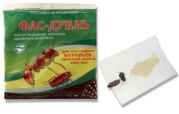Средство фас-дубль от муравьев