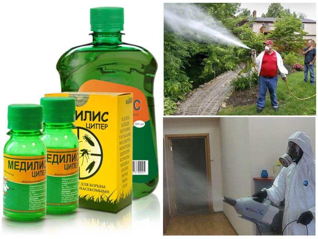 Как разводить Цифокс от комаров, инструкция по применению