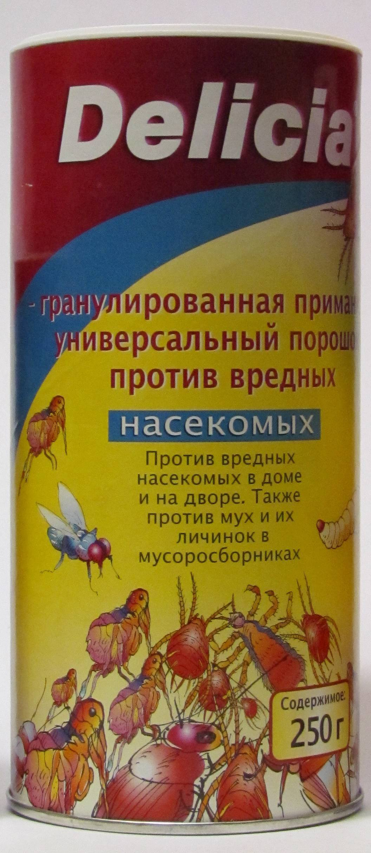 Немецкое средство delicia от тараканов