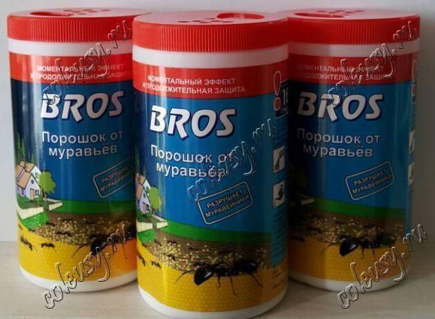 Как использовать средство от муравьев bros — рекомендации, инструкция, отзывы