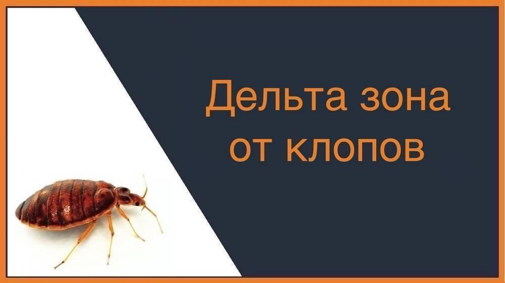 Дельта зона от клопов и тараканов: инструкция по применению, отзывы