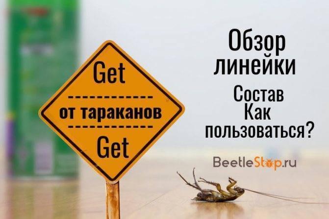 Get от тараканов: обзор средства, инструкция и отзывы покупателей