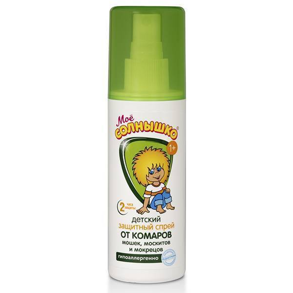 Лучшие средства от комаров для детей от 1 года