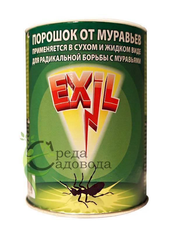Применение средства муравьед против муравьев