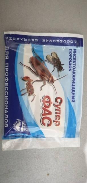 Супер-фас от тараканов: преимущества и инструкция к применению