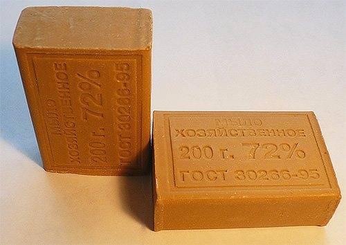 Хозяйственное мыло от вшей и гнид: инструкция по применению и отзывы