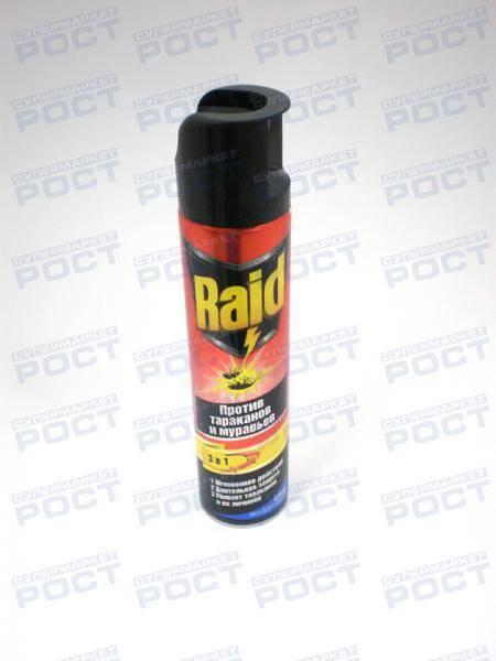 Рейд от тараканов гарантия уничтожения