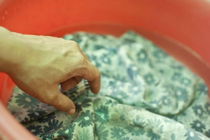 Как вывести плесень с ткани: удаление грибка с одежды