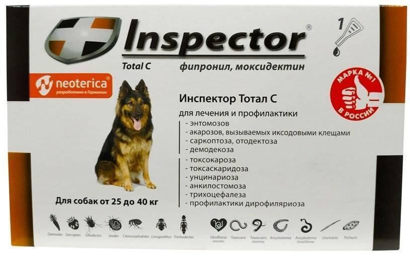 Капли инспектор для кошек: препарат от блох, клещей и гельминтов