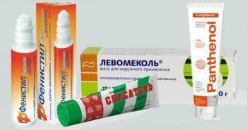Выбираем мази и кремы от укусов постельных клопов