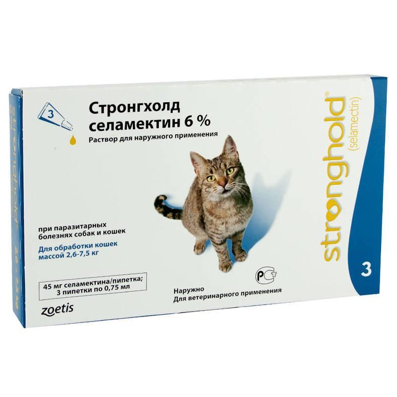 Средство от блох для кошек «адвокат»