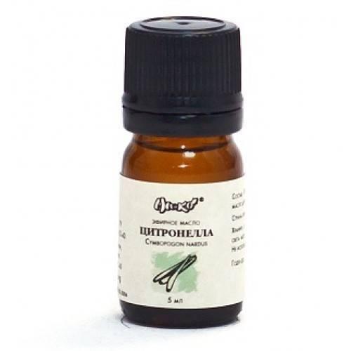 Эфирное масло цитронеллы от комаров