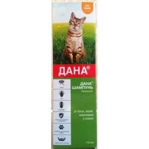 Шампуни от блох: эффективность и правила применения для кошек