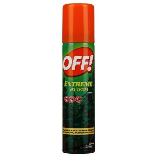 Спрей off от комаров