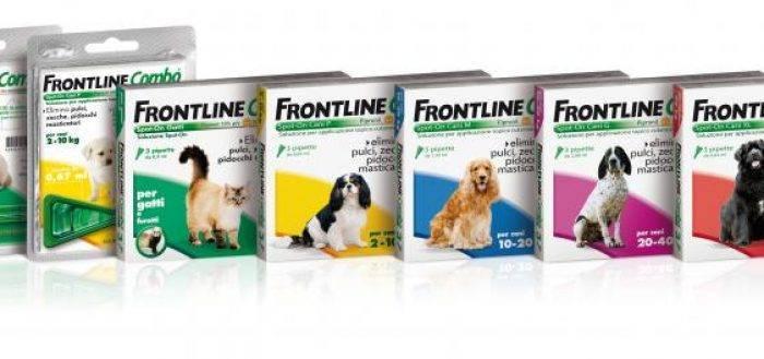 Фронтлайн для кошек: все о средствах от клещей и блох