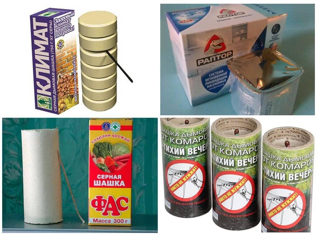 Дымовая шашка от тараканов: выбираем самую эффективную