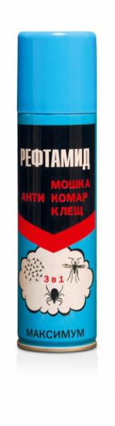 10 лучших средств «рефтамид» от клещей и от других кровососущих насекомых, отзывы