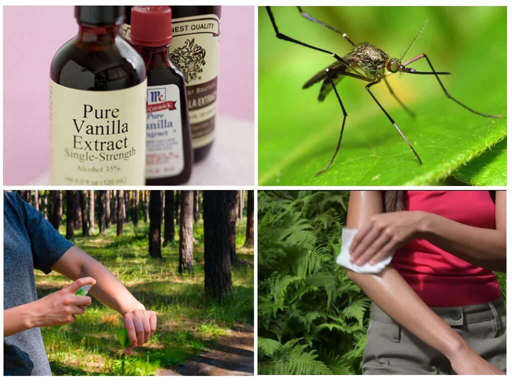 Как применять ванилин от комаров?