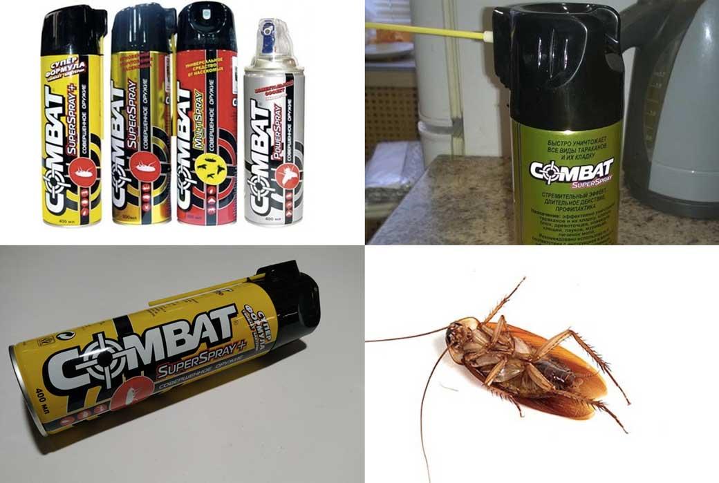 «Комбат» от тараканов — обзор средств и отзывы покупателей