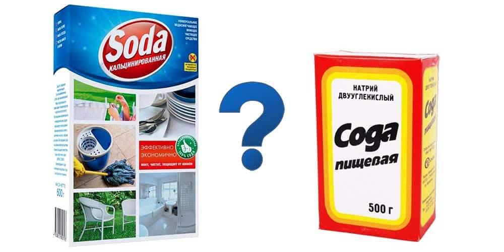 Использование пищевой и кальцинированной соды против тли