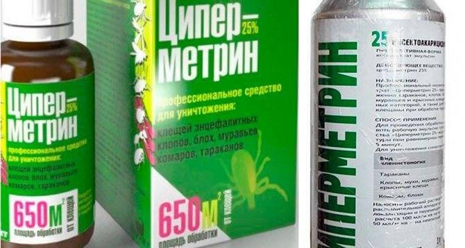 Средство от клопов Циперметрин – отзывы, инструкция по применению