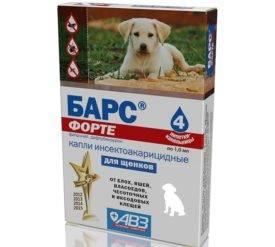 спрей барс и барс форте для собак от блох и клещей