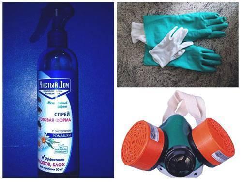 Спрей «чистый дом от клопов» — простой способ уничтожить клопов в квартире