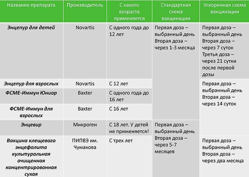Нужна ли прививка от клещевого энцефалита детям