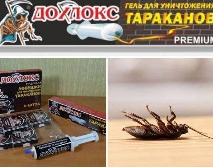 Инсектицидный гель от тараканов убойная сила