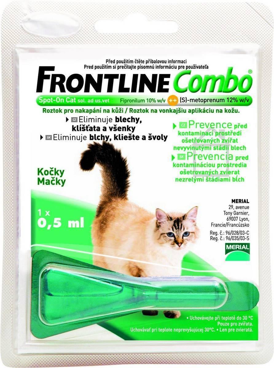 Фронтлайн для кошек: инструкция по применению, состав и отзывы