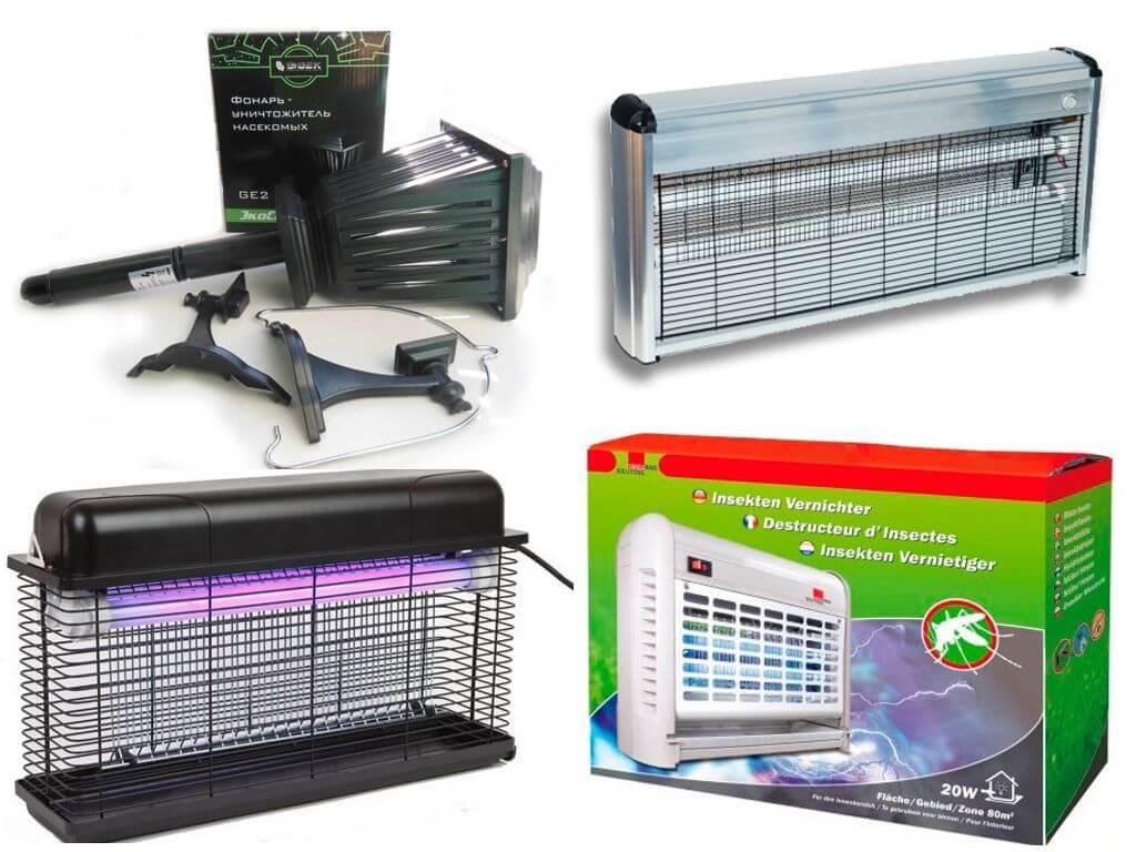 Электроловушки для комаров