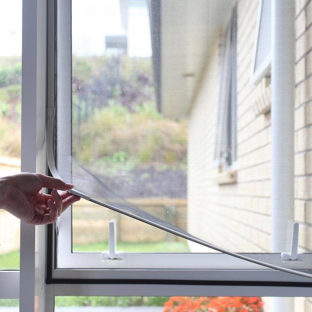 Сетки от комаров на окна — гарантия летнего комфорта