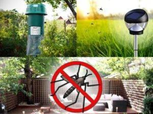 Средства от комаров на даче по периметру