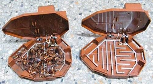 Ловушки для тараканов: самые эффективные промышленные средства. как сделать ловушку своими руками