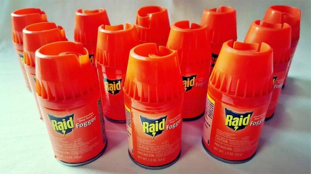 Тотальная борьба с насекомыми: средство raid от тараканов