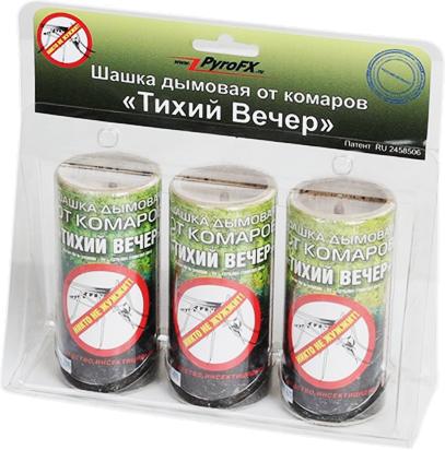 Дымовая шашка «тихий вечер» от комаров