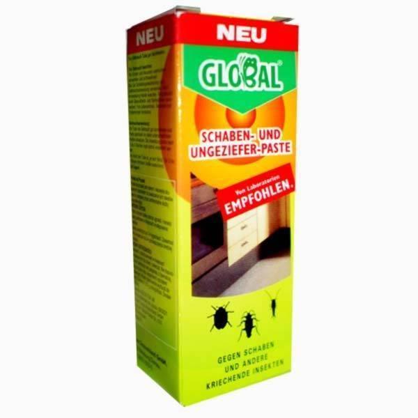 Глобал от тараканов крем и аэрозоль как применять — отзывы про применение