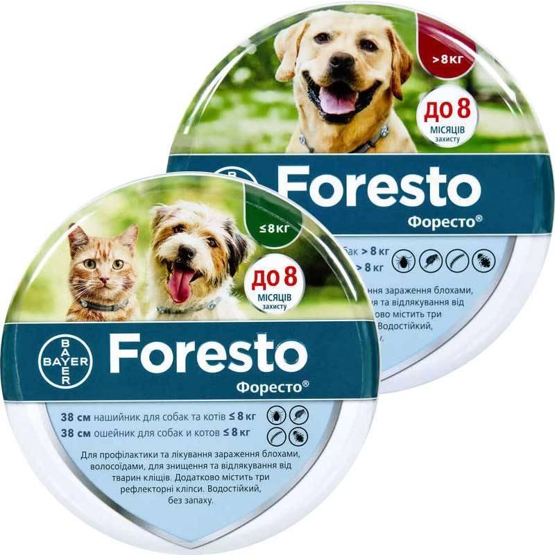 Ошейники для собак от блох и клещей