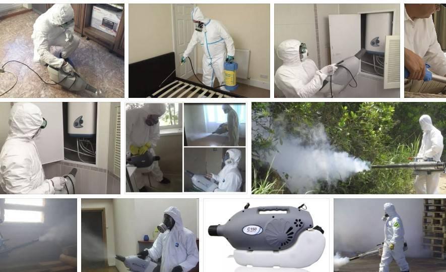 Насколько эффективна от клопов обработка квартиры или сада горячим туманом?