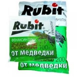 Рубит Рофатокс гранулы от медведки и проволочника