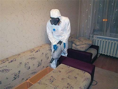 Дезинсекция от блох в квартире